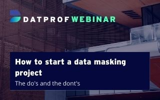 How to start a data masking project