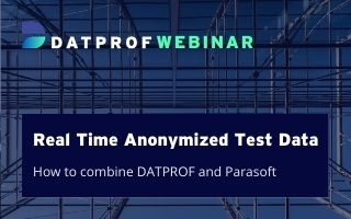 Real time anonymized test data