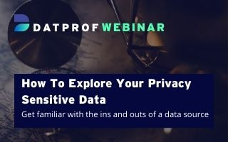 How to explore your privacy sensitive data?