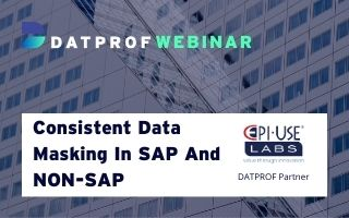 Webinar: Consistent data masking in SAP and non-SAP