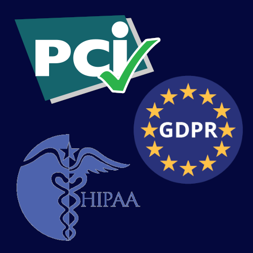 PCI GDPR HIPAA Compliancy with data masking