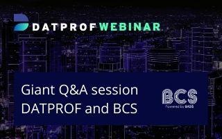 Webinar: Giant Q&A Session BCS and DATPROF