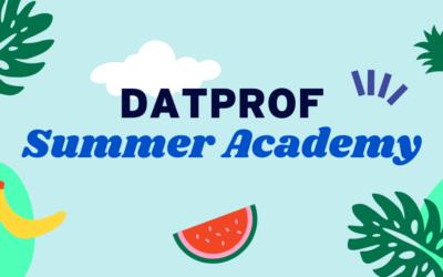 DATPROF Test Data Summer Academy