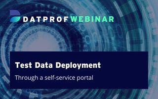 Webinar Test data deployment Runtime 4